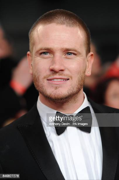 Matthew Wolfenden arriving for the 2012 NTA Awards at the O2 Greenwich London