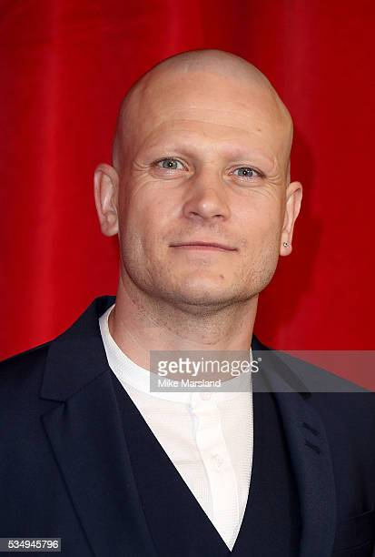 Matthew Wolfenden attends the British Soap Awards 2016 at Hackney Empire on May 28 2016 in London England