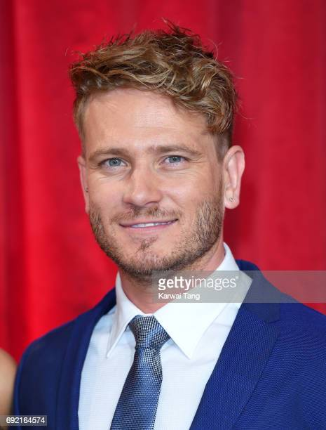Matthew Wolfenden attends the British Soap Awards at The Lowry Theatre on June 3 2017 in Manchester England