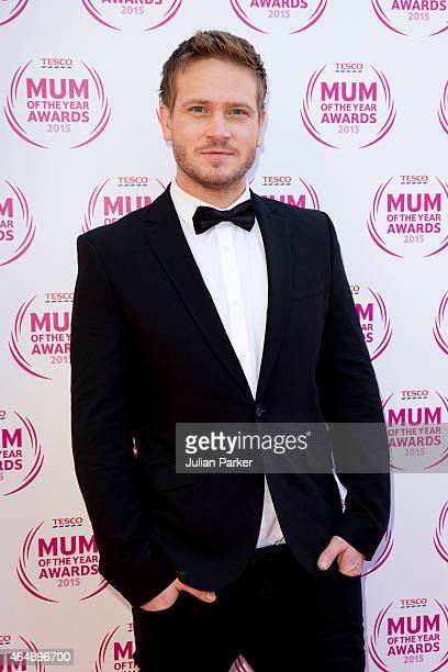 Matthew Wolfenden attends the Tesco Mum of the Year Awards at The Savoy Hotel on March 1 2015 in London England