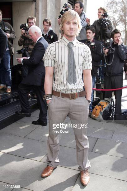 Matthew Wolfenden during TRIC Awards 2007 Outside Arrivals at Grosvenor House in London Great Britain