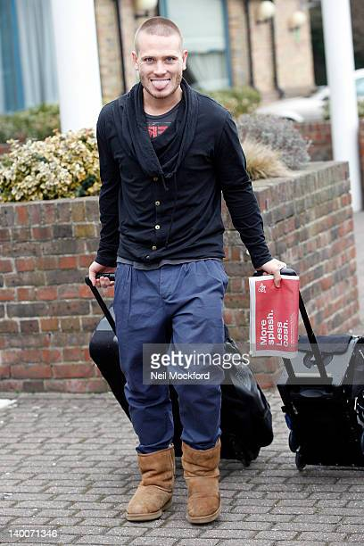 Matthew Wolfenden seen leaving his hotel on February 27 2012 in London England