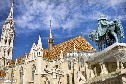 Matthias Church,Budapest,Hungary. : Stock Photo