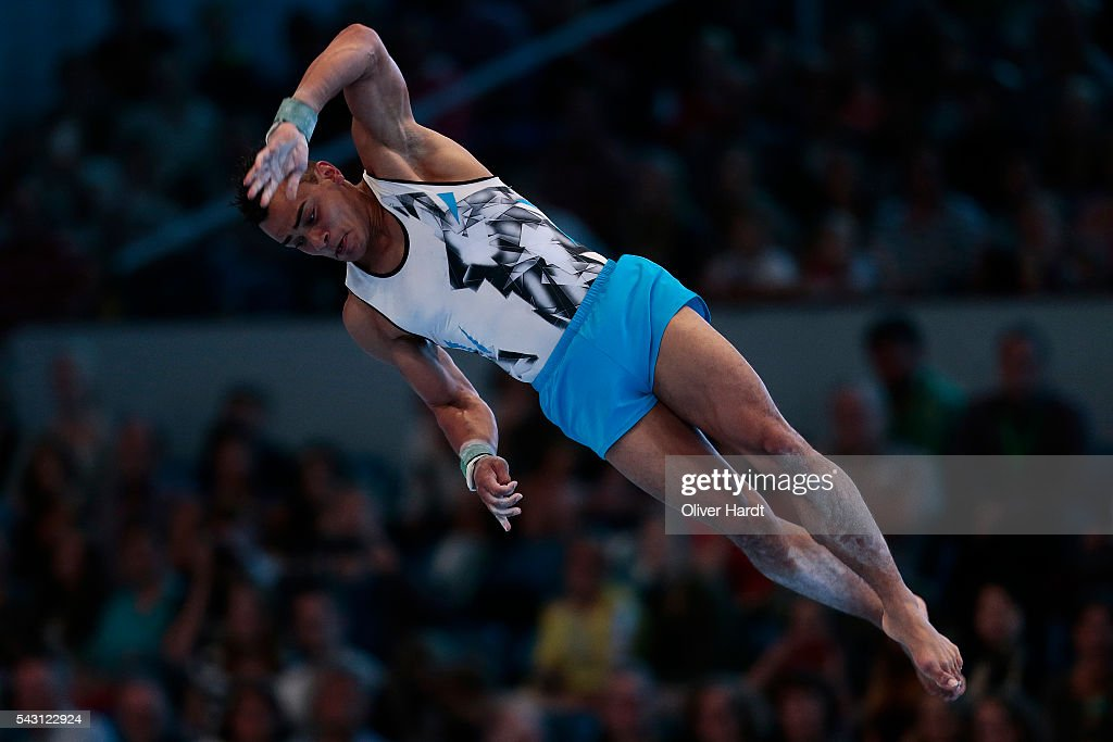 Matthias Fahrig of Germany in action during the German Gymnastics Championship Day 2 at Sporthalle Hamburg on June 26, 2016 in Hamburg, Germany.