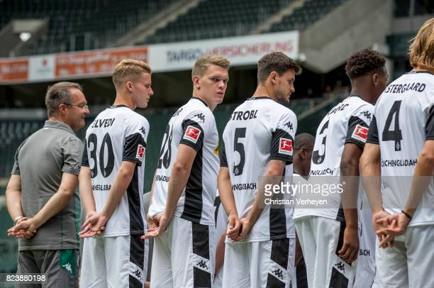 Matthias Ginter during the team presentation of Borussia Moenchengladbach at BorussiaPark on July 28 2017 in Moenchengladbach Germany