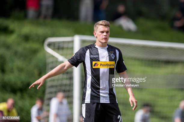 Matthias Ginter of Borussia Moenchengladbach during the friendly match between Borussia Moenchengladbach and FC Malaga at PCC Stadion on July 29 2017...