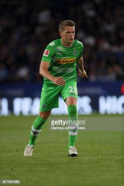 Matthias Ginter of Borussia Moenchengladbach during the preseason friendly match between Leicester City and Borussia Moenchengladbach at The King...