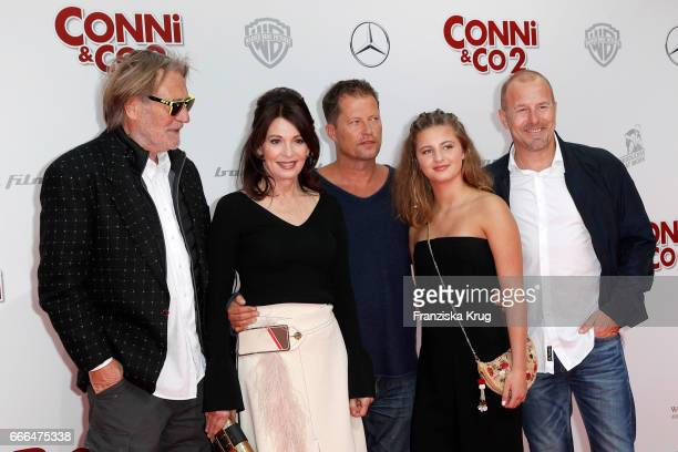 Matthias Habich Iris Berben Til Schweiger Emma Schweiger and Heino Ferch attend the 'Conni Co 2 Das Geheimnis des TRex' premiere on April 9 2017 in...