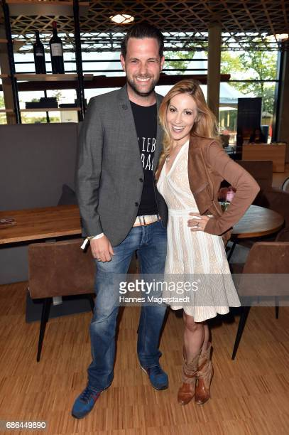 Matthias Killing and Andrea Kaiser attend the Pre Golf Party during the 9th Golf Charity Cup hosted by the Christoph Metzelder Foundation at the...