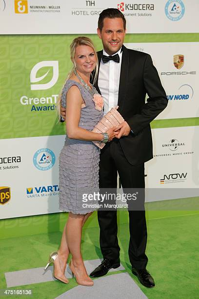 Matthias Killing and his wife Svenja Dierek tends the GreenTec Awards 2015 at Tempodrom on May 29 2015 in Berlin Germany