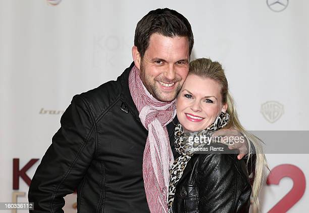 Matthias Killing and Svenja Dierk attend 'Kokowaeaeh 2' Germany Premiere at Cinestar Potsdamer Platz on January 29 2013 in Berlin Germany