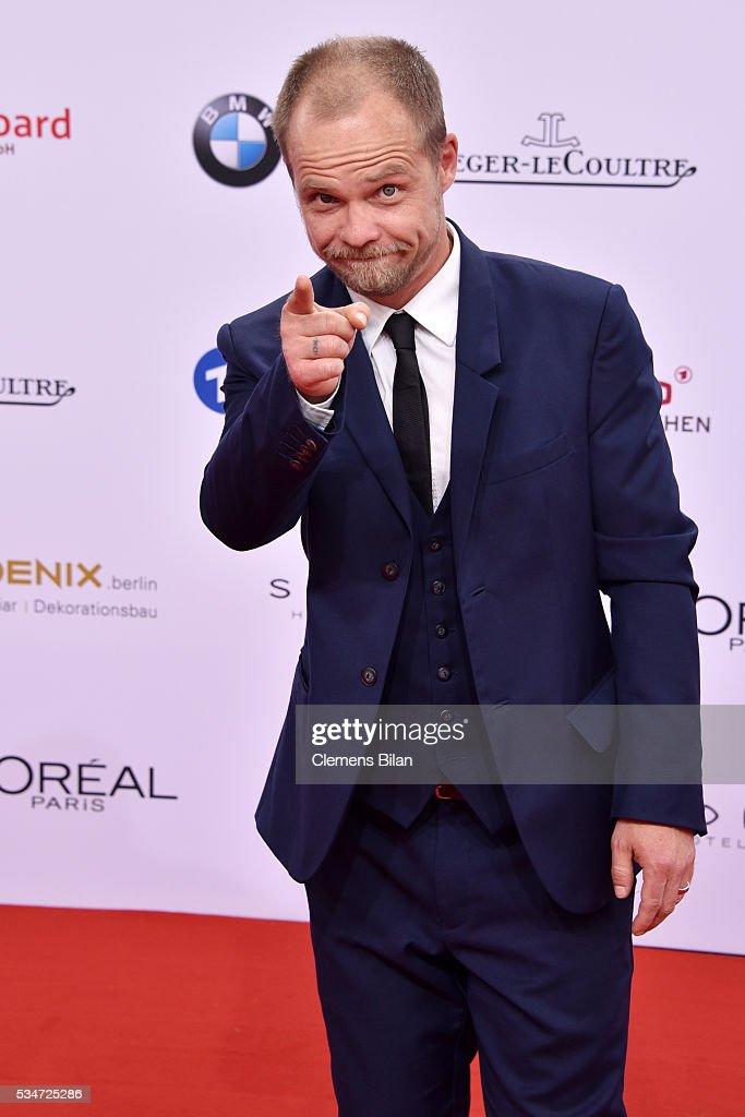 Matthias Koeberlin attends the Lola - German Film Award (Deutscher Filmpreis) on May 27, 2016 in Berlin, Germany.