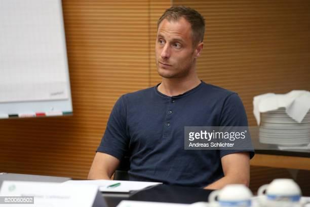 Matthias Lehman at DFB Headquarter on July 19 2017 in Frankfurt am Main Germany