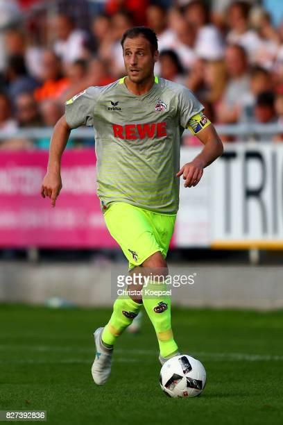 Matthias Lehmann of Kln runs with the ball during the preseason friendly match between TSV Steinbach and 1 FC Koeln at SibreSportzentrum Haarwasen on...