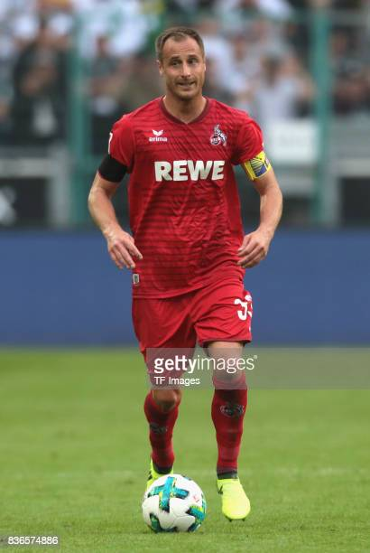 Matthias Lehmann of Koeln in action during the Bundesliga match between Borussia Moenchengladbach and 1 FC Koeln at BorussiaPark on August 20 2017 in...