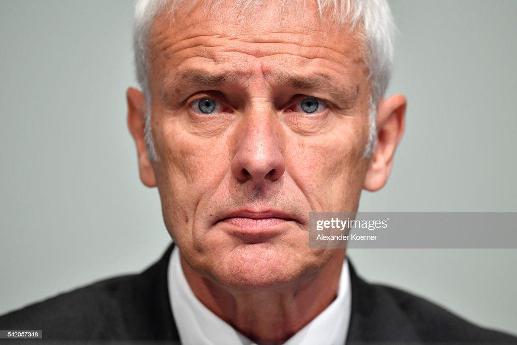 Volkswagen Holds General Shareholders Meeting