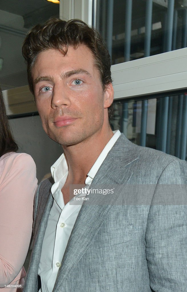Matthias Pohl attends the NRJ 12 Reality TV Press Conference at NRJ 12 Studio on July 12, 2012 in Paris, France.