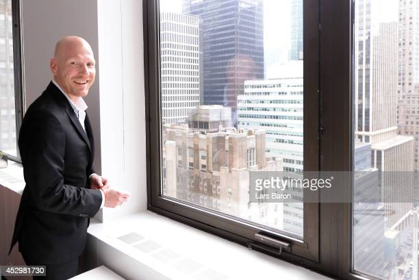 Matthias Sammer is seen during the FC Bayern Muenchen office opening on day 2 of the Audi Summer Tour USA 2014 on July 31 2014 in New York United...