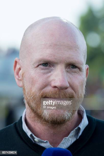 Matthias Sammer looks on during a friendly match between Espanyol Barcelona and Borussia Dortmund as part of the training camp on July 28 2017 in...