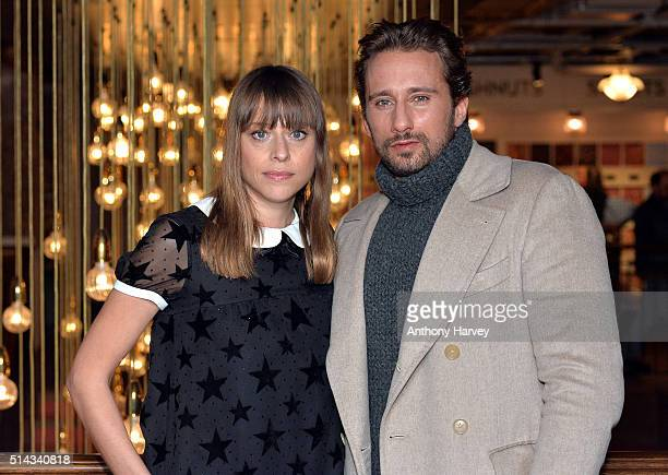 Matthias Schoenaerts and Director Alice Winocour attend the UK gala screening of 'Disorder' at Picturehouse Central on March 8 2016 in London England