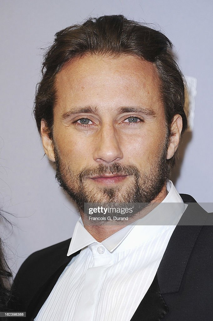 Matthias Schoenaerts arrives at Cesar Film Awards 2013 at Theatre du Chatelet on February 22, 2013 in Paris, France.