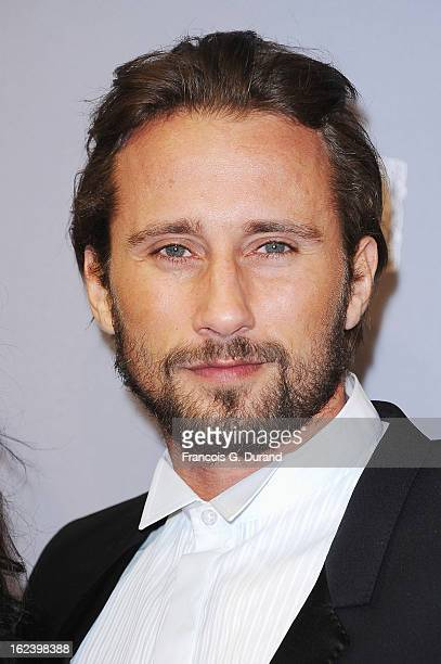 Matthias Schoenaerts arrives at Cesar Film Awards 2013 at Theatre du Chatelet on February 22 2013 in Paris France