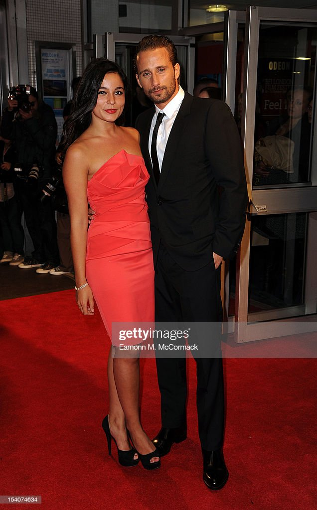<a gi-track='captionPersonalityLinkClicked' href=/galleries/search?phrase=Matthias+Schoenaerts&family=editorial&specificpeople=6259320 ng-click='$event.stopPropagation()'>Matthias Schoenaerts</a> attends the premiere of 'Rust and Bone' during the 56th BFI London Film Festival at Odeon West End on October 13, 2012 in London, England.