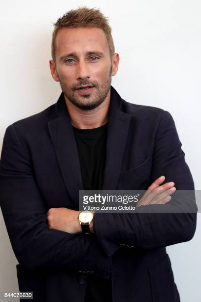 Matthias Schoenaerts attends the 'Racer And The Jailbird ' photocall during the 74th Venice Film Festival at Sala Casino on September 8 2017 in...