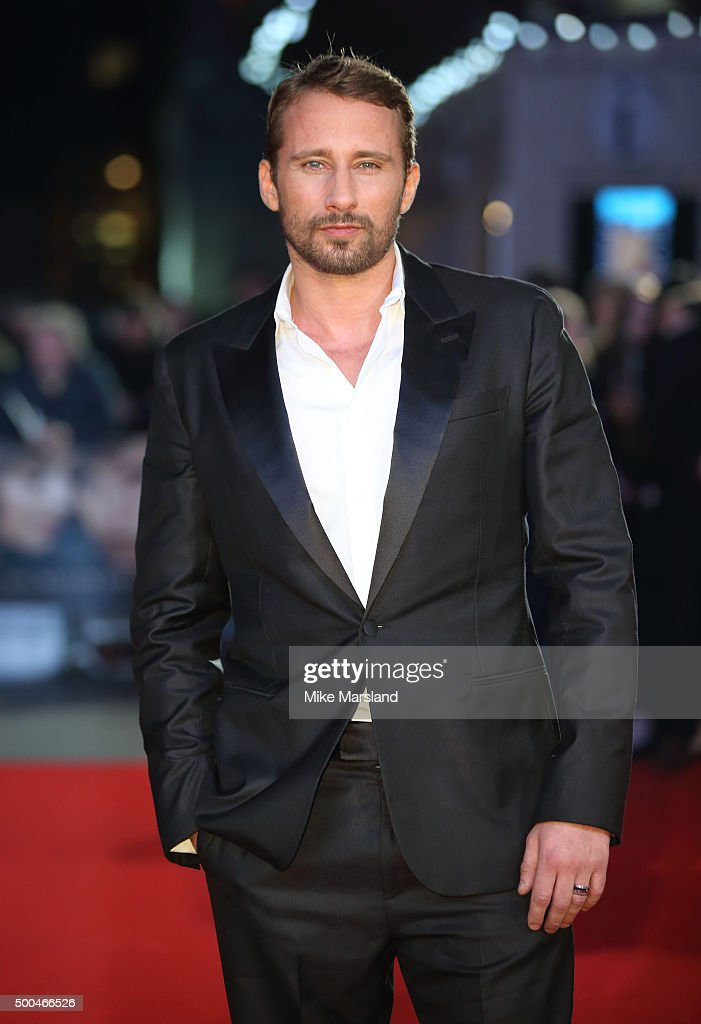 <a gi-track='captionPersonalityLinkClicked' href=/galleries/search?phrase=Matthias+Schoenaerts&family=editorial&specificpeople=6259320 ng-click='$event.stopPropagation()'>Matthias Schoenaerts</a> attends the UK Film Premiere of 'The Danish Girl' on December 8, 2015 in London, United Kingdom.