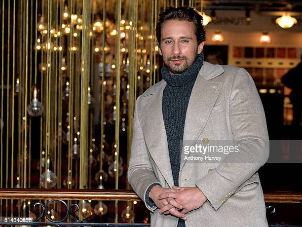 Matthias Schoenaerts attends the UK gala screening of 'Disorder' at Picturehouse Central on March 8 2016 in London England