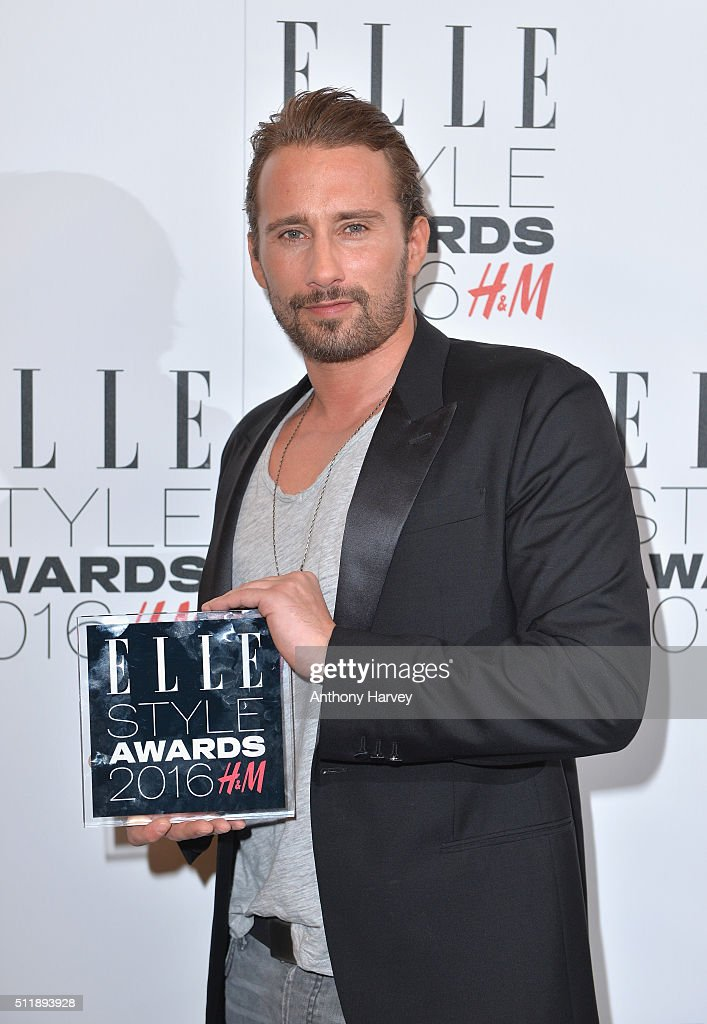 <a gi-track='captionPersonalityLinkClicked' href=/galleries/search?phrase=Matthias+Schoenaerts&family=editorial&specificpeople=6259320 ng-click='$event.stopPropagation()'>Matthias Schoenaerts</a> poses with his award for Actor of The Year in the winners room at The Elle Style Awards 2016 on February 23, 2016 in London, England.