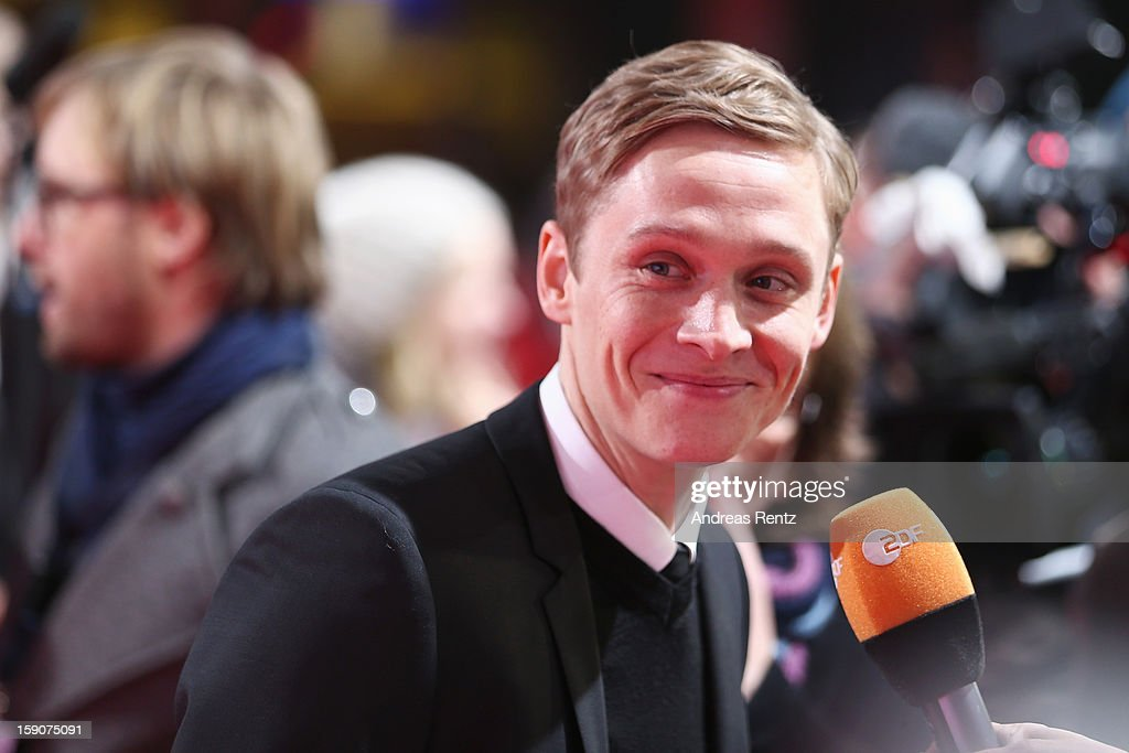 Matthias Schweighoefer attends the 'Der Schlussmacher' Berlin Premiere at Cinestar Potsdamer Platz on January 7, 2013 in Berlin, Germany.