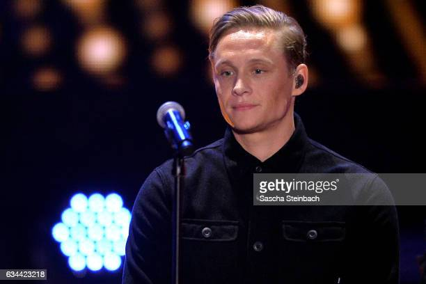 Matthias Schweighoefer attends the 'Eurovision Song Contest 2017 Unser Song' show on February 9 2017 in Cologne Germany
