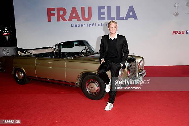 Matthias Schweighoefer attends the 'Frau Ella' Premiere at CineStar on October 8 2013 in Berlin Germany