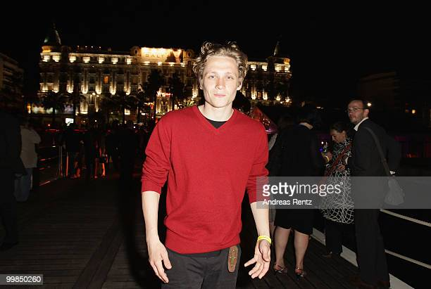 Matthias Schweighoefer attends the German Films Reception at the Carlton Hotel during the 63rd Annual Cannes Film Festival on May 17 2010 in Cannes...