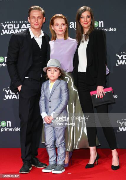Matthias Schweighoefer Karoline Herfurth Alexandra Maria Lara and Franz Hagn arrives at Amazon Prime Video's premiere of the series 'You are Wanted'...