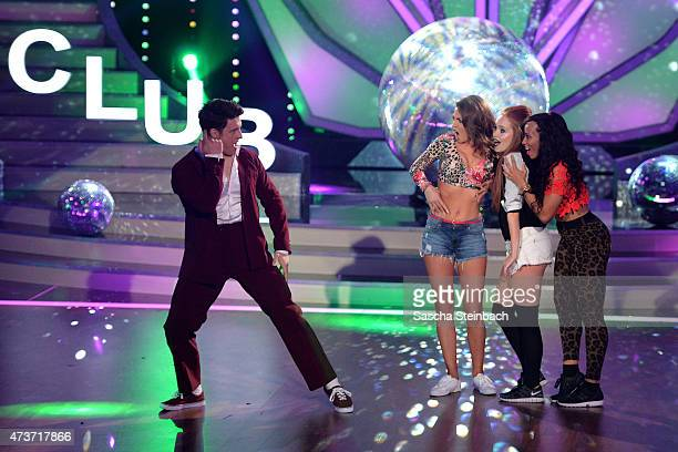 Matthias Steiner and Ekaterina Leonova perform on stage during the 9th show of the television competition 'Let's Dance' on May 15 2015 in Cologne...