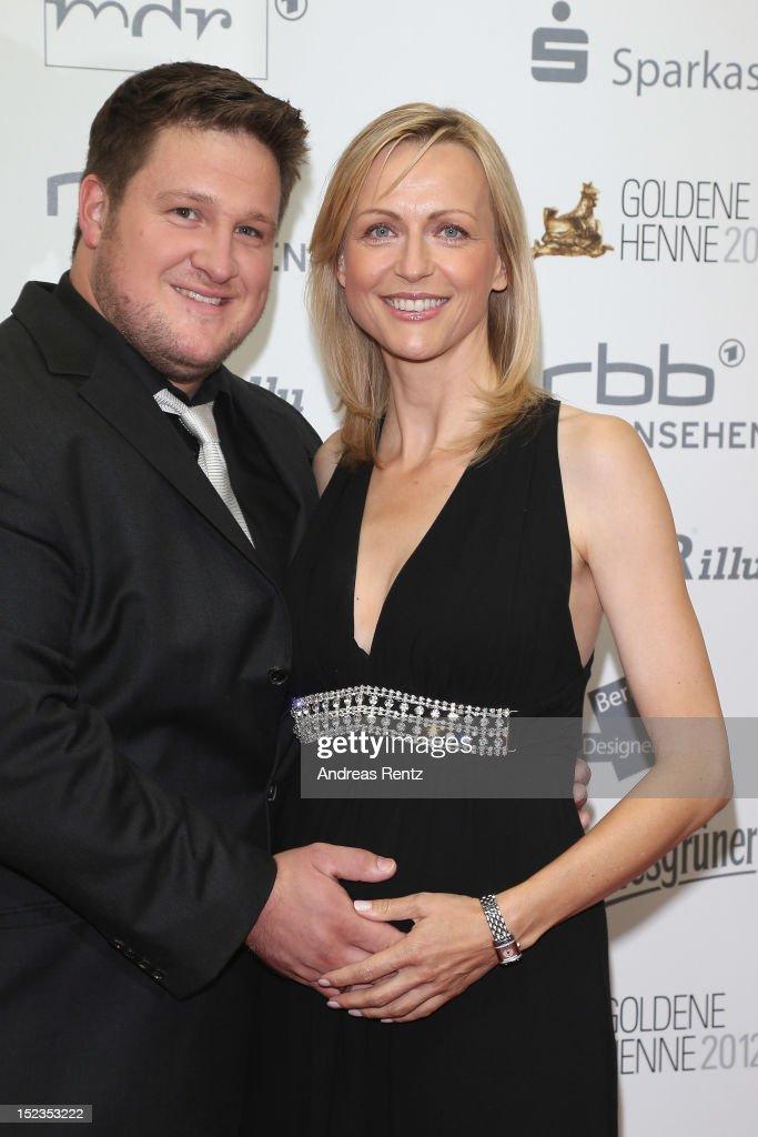 Matthias Steiner and his wife Inge Steiner attend for the 'Goldene Henne' 2012 award on September 19 2012 in Berlin Germany