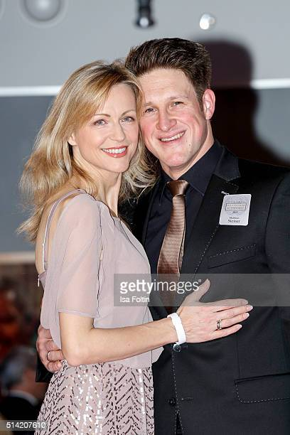 Matthias Steiner and his wife Inge Steiner attend the German Media Award 2016 on March 07 2016 in BadenBaden Germany