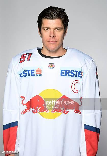 Matthias Trattnig of EC Red Bull Salzburg during the portrait shot September 16 2016 in Salzburg Austria