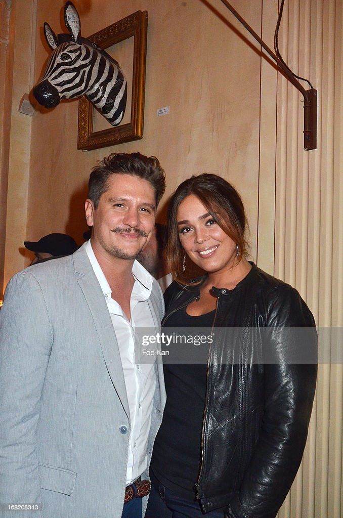 Matthias Van Khache and Lola Dewaereattend the 'Speakeasy' Party At The Lefty Bar Restaurant on May 6, 2013 in Paris, France.