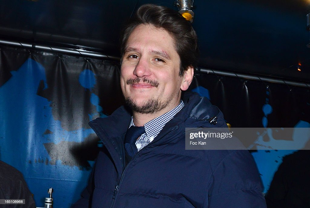 Matthias Van Khache attends 'Les Toiles Enchantees' Children Care Association Auction Dinner During The 50th Foire du Trone at Pelouse de Reuilly on March 29, 2013 in Paris, France.