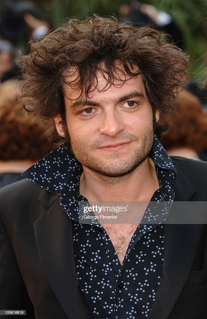 Matthieu Chedid aka 'M' during 2006 Cannes Film Festival - 'Over The Hedge' - Premiere at Palais des Festival in Cannes, France.