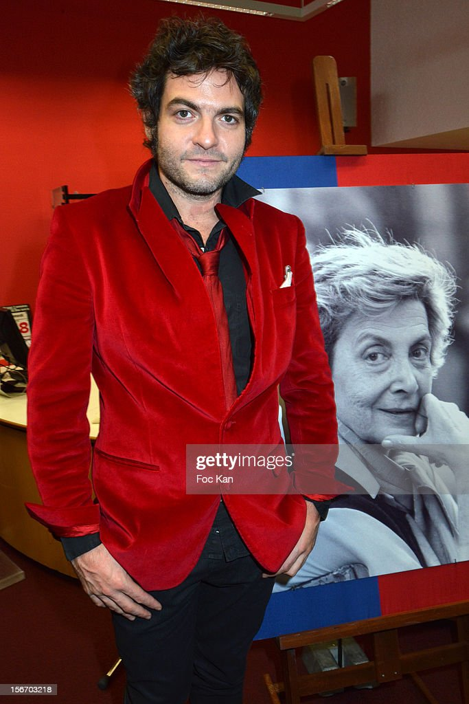 Matthieu Chedid attends the 'Bibliotheque Andree Chedid' Launch Ceremony at Beaugrenelle on November 19, 2012 in Paris, France.