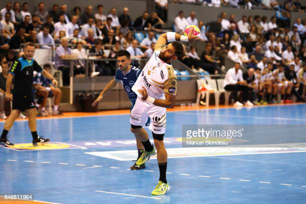 Matthieu Ong of Aix during Lidl Star Ligue match between Fenix Toulouse and Pays D'aix Universite Club on September 13 2017 in Toulouse France
