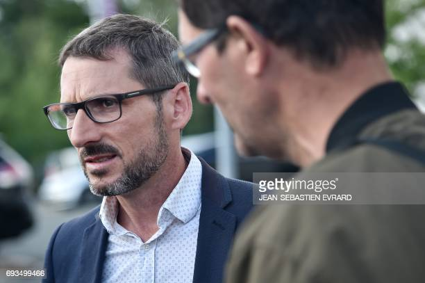 Matthieu Orphelin candidate of 'La Republique En Marche' party in the 1st district of the Maine et loire for the upcoming parliamentary election...