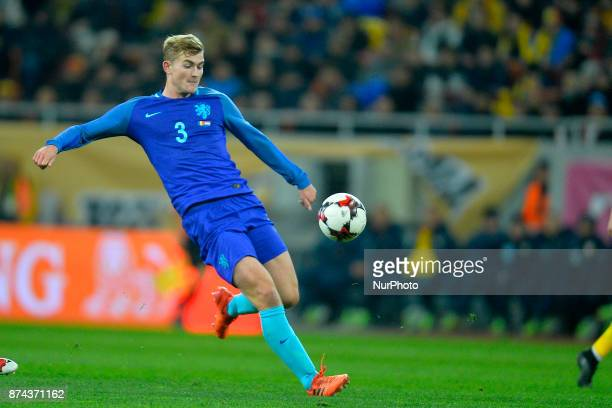 Matthijs de Ligt during the International Friendly match between Romania and Netherlands at National Arena Stadium in Bucharest Romania on 14...