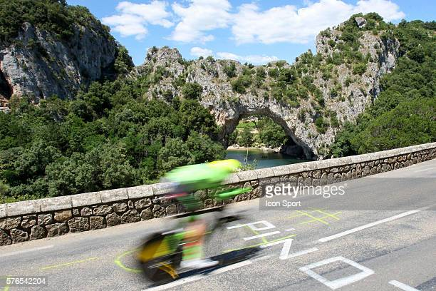 Matti TEAM CANNONDALE DRAPAC during the thirteenth stage of the 103rd edition of the Tour de France cycling race a 375km individual time trial from...