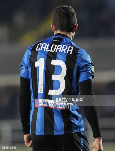 Mattia Caldara of Atalanta BC during the Serie A match between Atalanta BC and Benevento Calcio at Stadio Atleti Azzurri d'Italia on November 27 2017...