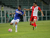 Mattia Cassani during the preliminary of Europa League match between UC Sampdoria and FK Vojvodina at the Olympic Stafium of Turin on july 30 2015 in...